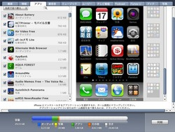 iTunes 9.1 iphone App